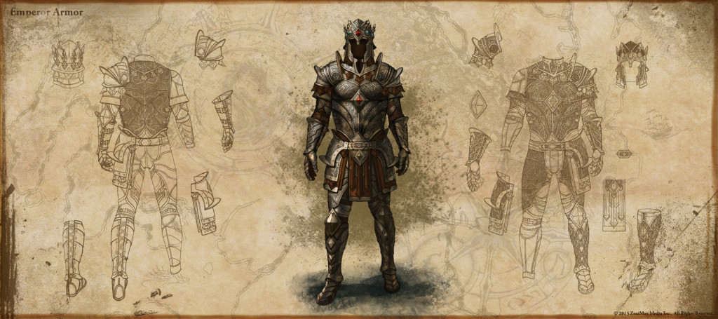 Armor Only Fit for the EmperorElder Scrolls Online Argonian Armor