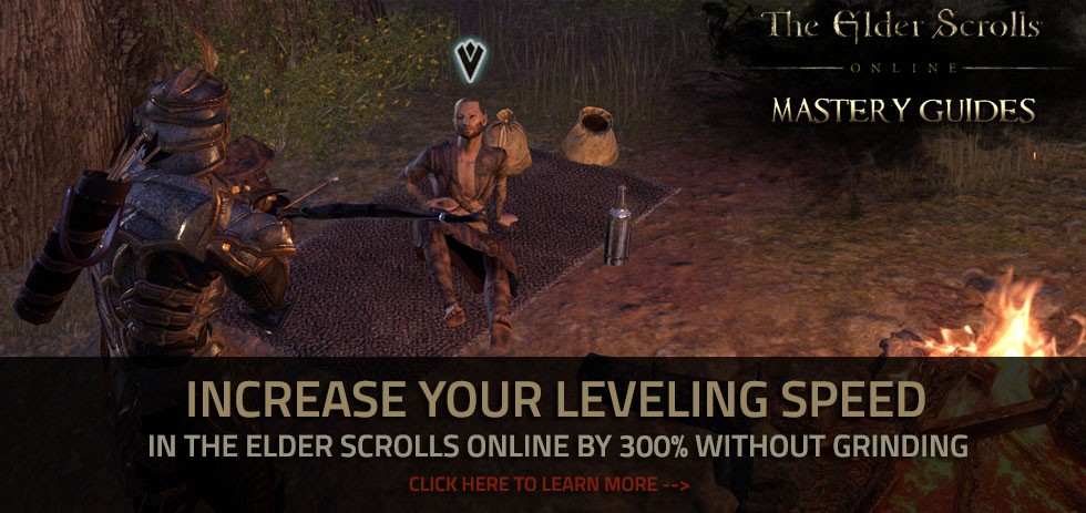Eso Speed Level Crafting Guide