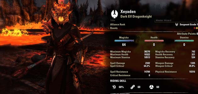 Dragonknight Builds Eso