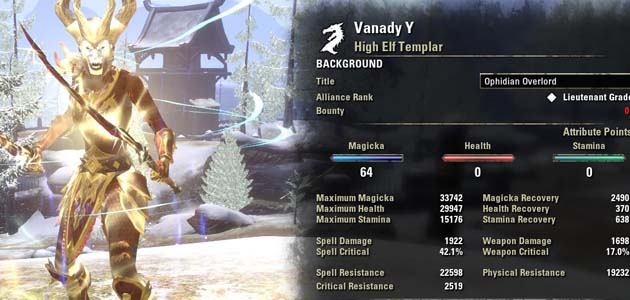 Best Stamina Templar Pvp Build Eso